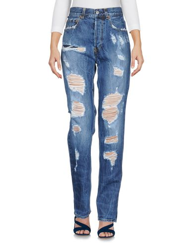 Acynetic | Синий Женские синие джинсовые брюки ACYNETIC деним | Clouty
