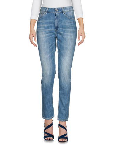Dondup | Синий Женские синие джинсовые брюки DONDUP Деним | Clouty