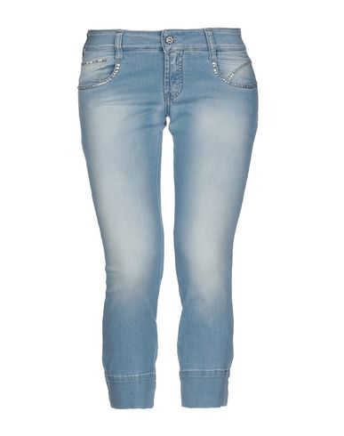 Met | Синий Женские синие джинсовые брюки капри MET деним | Clouty