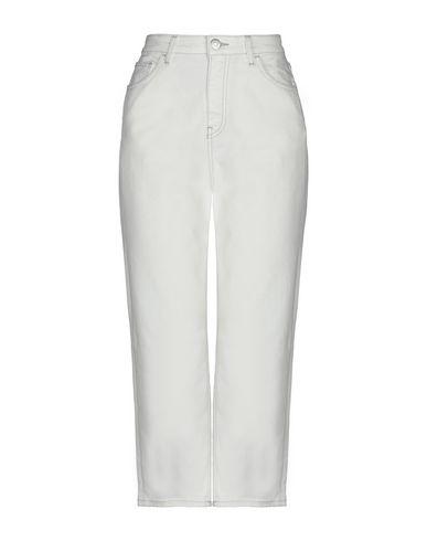 Haikure   Белый; Оранжевый; Розовый Женские белые джинсовые брюки капри HAIKURE деним   Clouty
