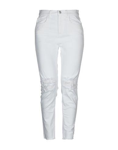 Haikure | Белый Женские белые джинсовые брюки HAIKURE деним | Clouty