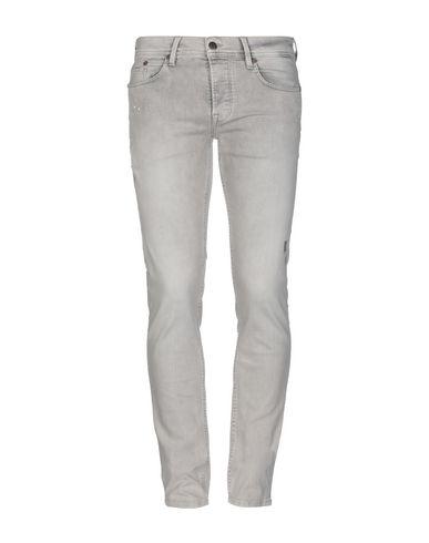 Pepe Jeans Heritage   Серый Мужские серые джинсовые брюки PEPE JEANS HERITAGE деним   Clouty