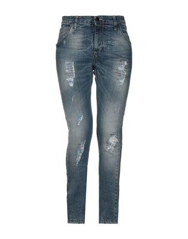Mangano | Синий Женские синие джинсовые брюки MANGANO деним | Clouty