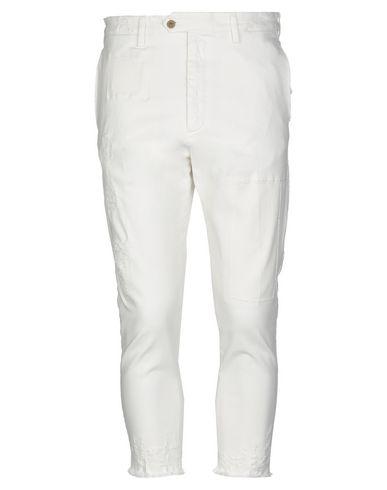 Don The Fuller | Белый Мужские белые джинсовые брюки капри DON THE FULLER деним | Clouty