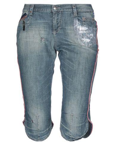 C'N'C Costume National | Синий Женские синие джинсовые брюки капри C'N'C' COSTUME NATIONAL деним | Clouty