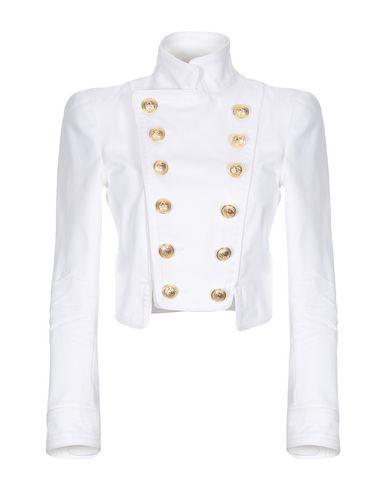 DSQUARED2 | Женский белый пиджак DSQUARED2 твил | Clouty