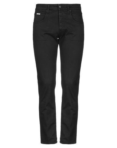 (+) People | Черный; Темно-синий; Зеленый-милитари Мужские черные джинсовые брюки (+) PEOPLE деним | Clouty