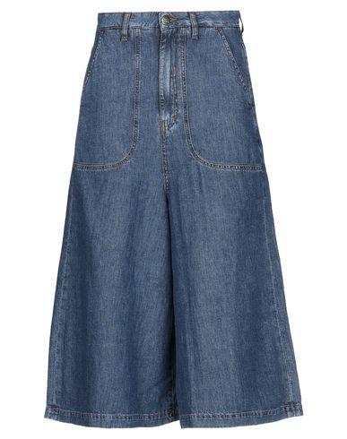 2W2M | Синий Женские синие джинсовые брюки капри 2W2M деним | Clouty