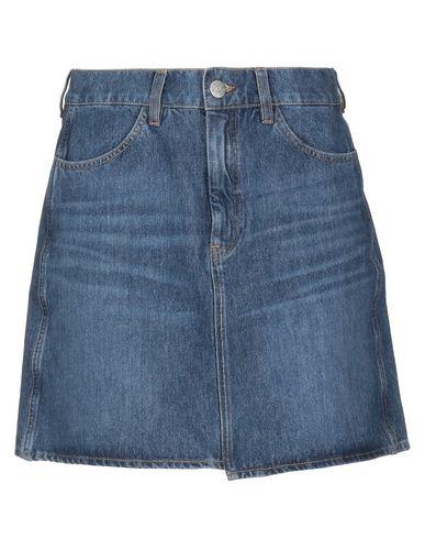 M.I.H Jeans | Синий Женская синяя джинсовая юбка M.I.H JEANS деним | Clouty