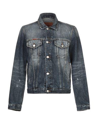 Takeshy Kurosawa | Синий Мужская синяя джинсовая верхняя одежда TAKESHY KUROSAWA деним | Clouty