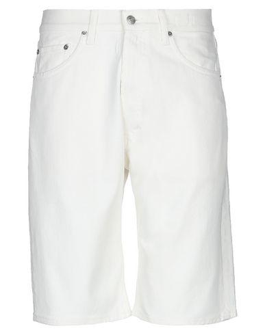 Department 5 | Белый Мужские белые джинсовые бермуды DEPARTMENT 5 деним | Clouty