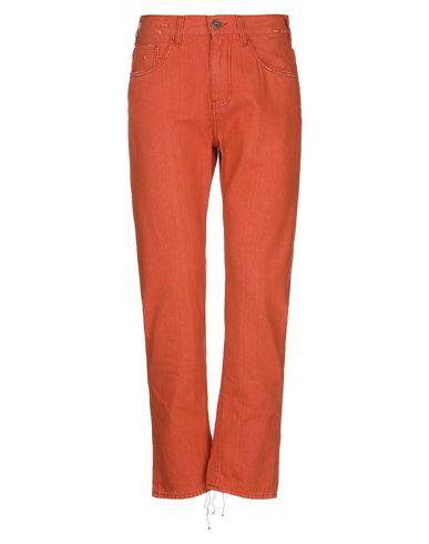 Pence | Оранжевый Мужские оранжевые джинсовые брюки PENCE деним | Clouty