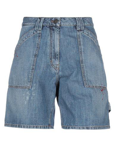 VALENTINO | Синий Женские синие джинсовые бермуды VALENTINO деним | Clouty