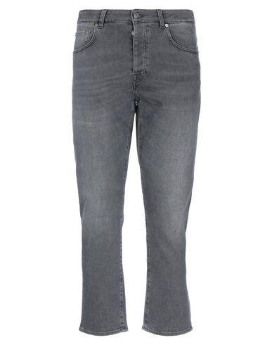 Gaëlle | Стальной серый Мужские джинсовые брюки капри GAeLLE Paris деним | Clouty
