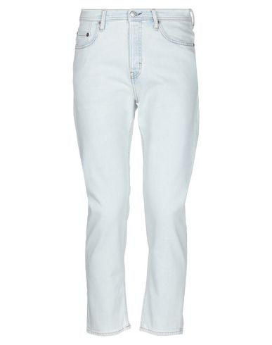 Acne Studios | Синий Мужские синие джинсовые брюки капри ACNE STUDIOS деним | Clouty
