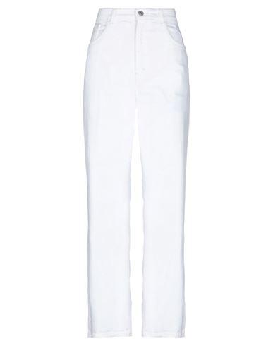 Haikure   Белый Женские белые джинсовые брюки HAIKURE деним   Clouty
