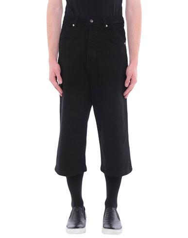Société Anonyme   Черный Мужские черные джинсовые брюки капри SOCIETE ANONYME деним   Clouty