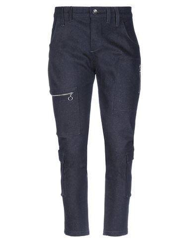 MANOSTORTI  | Синий Мужские синие джинсовые брюки капри MANOSTORTI деним | Clouty