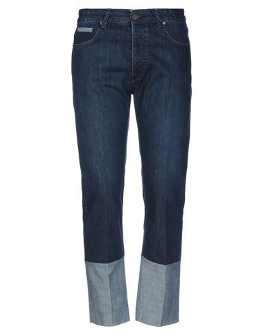 Michael Coal   Синий Мужские синие джинсовые брюки капри MICHAEL COAL деним   Clouty