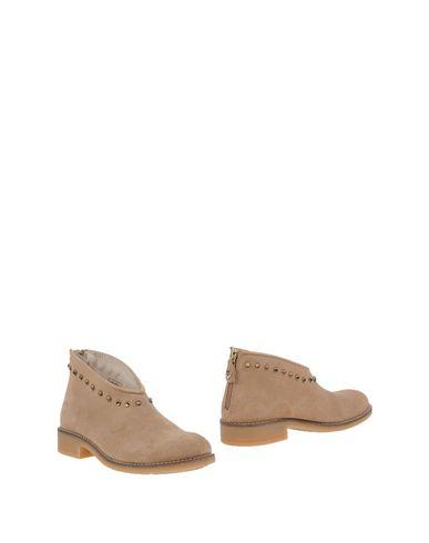 Twin-Set | Песочный Детские песочные ботинки TWINSET кожа | Clouty