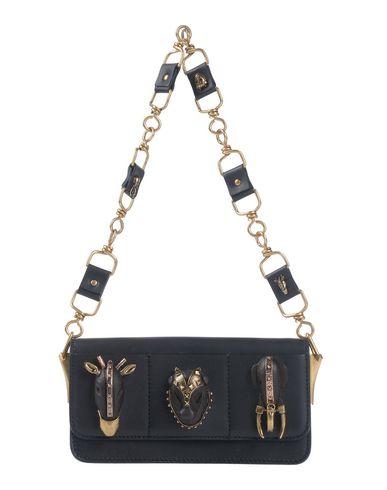 Valentino Garavani | Черный Женская черная сумка на руку VALENTINO GARAVANI маленький размер | Clouty