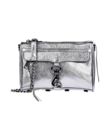 Rebecca Minkoff   Серебристый Женская серебристая сумка через плечо REBECCA MINKOFF маленький размер   Clouty