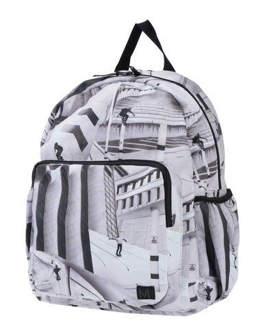 Molo | Светло-серый Детские светло-серые рюкзаки и сумки на пояс MOLO средний размер | Clouty