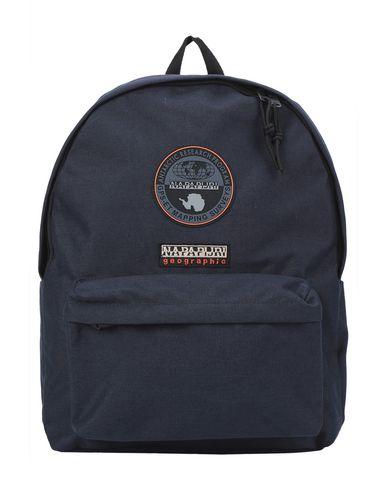 Napapijri | Темно-синий; Кирпично-красный; Желтый Детские темно-синие рюкзаки и сумки на пояс NAPAPIJRI макси | Clouty