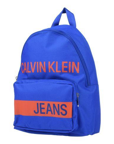Calvin Klein Jeans   Синий Детские синие рюкзаки и сумки на пояс CALVIN KLEIN JEANS средний размер   Clouty