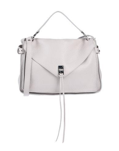 Rebecca Minkoff | Светло-серый Женская светло-серая сумка на руку REBECCA MINKOFF средний размер | Clouty