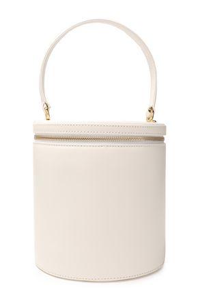 Staud | Staud Woman Vitti Leather Bucket Bag Ivory | Clouty