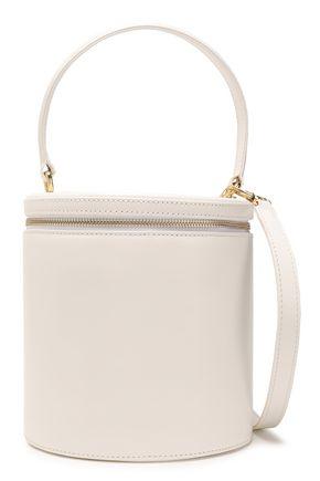 Staud   Staud Woman Vitti Leather Bucket Bag Ivory   Clouty