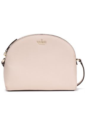 KATE SPADE | Kate Spade New York Woman Textured-leather Shoulder Bag Beige | Clouty