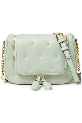 Anya Hindmarch | Anya Hindmarch Woman Small Vere Quilted Leather Shoulder Bag Mint | Clouty