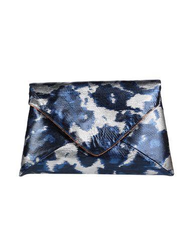 Dries Van Noten | Серебристый Женская серебристая сумка на руку DRIES VAN NOTEN средний размер | Clouty