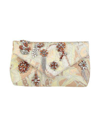 Dries Van Noten | Бежевый Женская бежевая сумка на руку DRIES VAN NOTEN плотная ткань | Clouty
