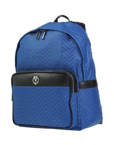 Versace Jeans | Ярко-синий Мужские рюкзаки и сумки на пояс VERSACE JEANS техническая ткань | Clouty