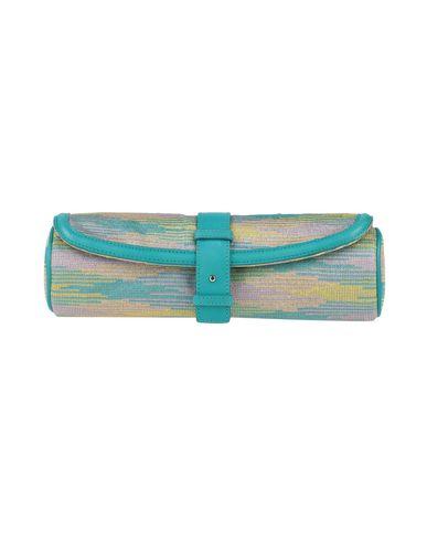 M Missoni   Бирюзовый Женская бирюзовая сумка на руку M MISSONI ламе   Clouty