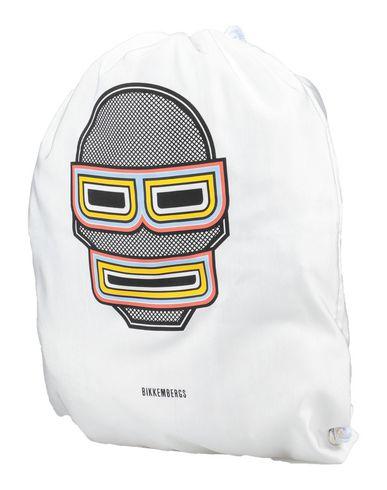 Bikkembergs   Белый Детские белые рюкзаки и сумки на пояс BIKKEMBERGS средний размер   Clouty
