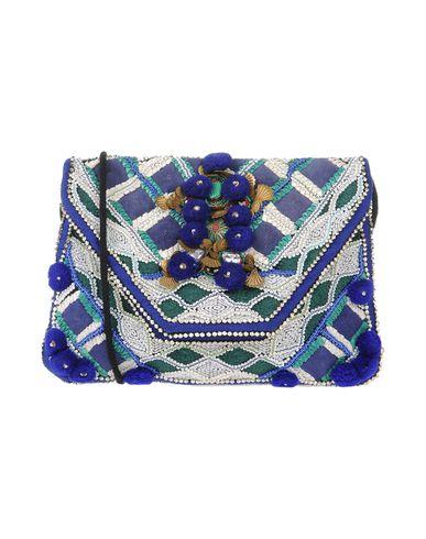 Antik Batik | Синий Женская синяя сумка на руку ANTIK BATIK вязаное изделие | Clouty