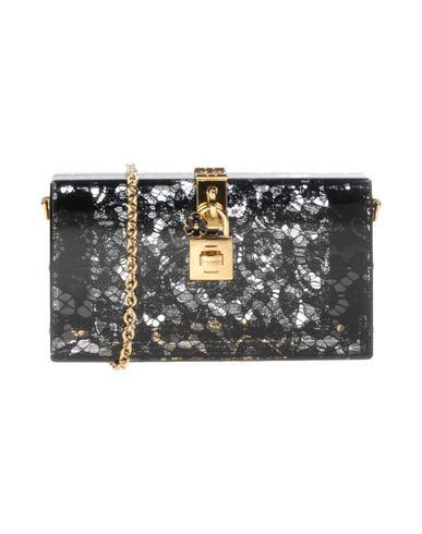 Dolce & Gabbana | Черный Женская черная сумка на руку DOLCE & GABBANA Маленький размер | Clouty