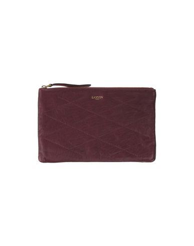 LANVIN | Красно-коричневый Женская сумка на руку LANVIN средний размер | Clouty