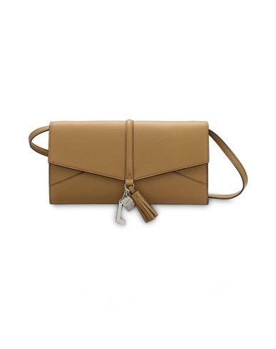 Lancel | Верблюжий Женская верблюжья сумка через плечо LANCEL Nine de Lancel – новая линейка с ярким современным характером. Молодежная и урбанистическая | Clouty