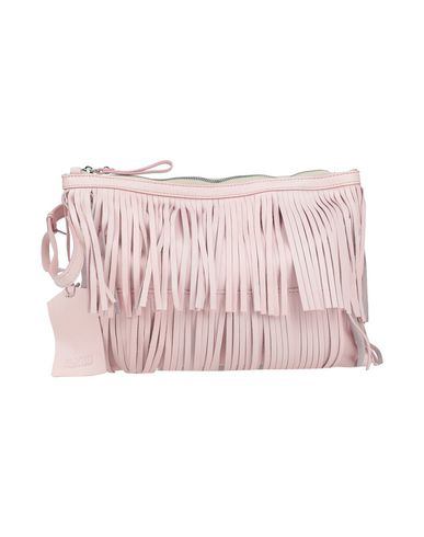 Silvian Heach | Светло-розовый; Светло-серый Женская светло-розовая сумка на руку SILVIAN HEACH средний размер | Clouty