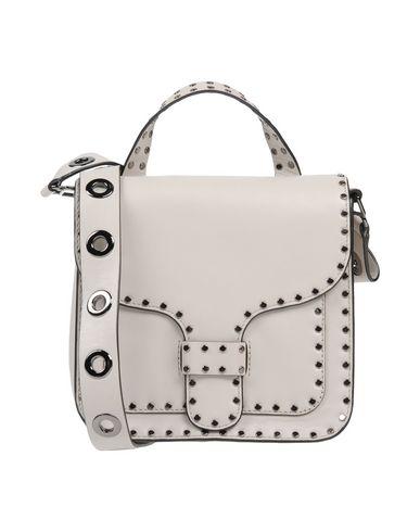Rebecca Minkoff | Светло-серый Женская светло-серая сумка через плечо REBECCA MINKOFF маленький размер | Clouty
