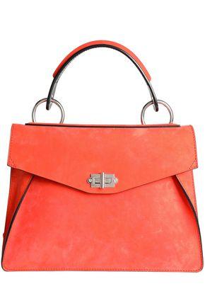 Proenza Schouler | Proenza Schouler Woman Hava Nubuck Shoulder Bag Coral Size - | Clouty