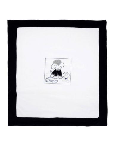 Aletta | Белый Детское белое одеяльце для младенцев ALETTA синель | Clouty