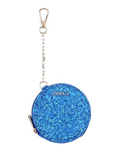 FURLA | Синий; Красный Женский синий кошелек для монет FURLA Логотип | Clouty