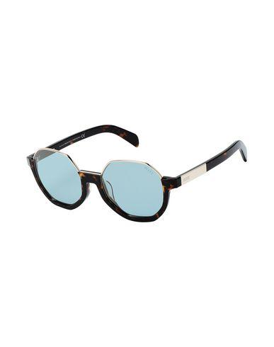 Emilio Pucci | Темно-коричневый Женские темно-коричневые солнечные очки EMILIO PUCCI логотип | Clouty