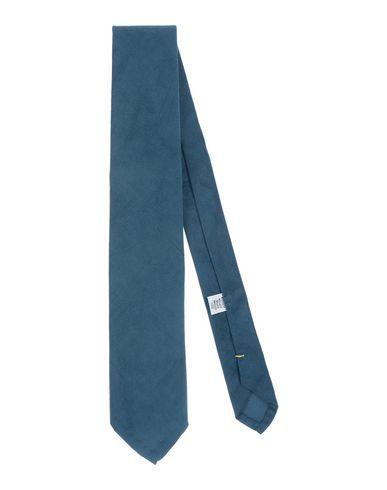 Umit Benan | Грифельно-синий Мужской галстук UMIT BENAN бархат | Clouty